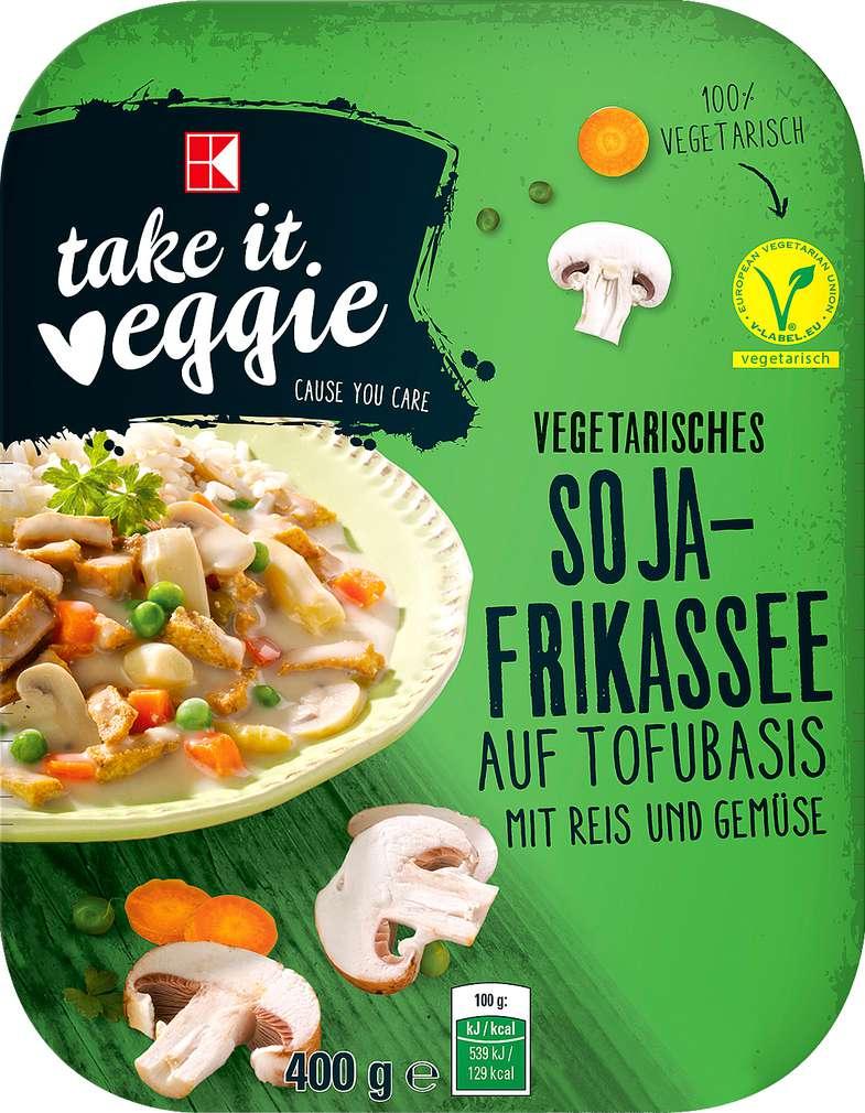 Abbildung des Sortimentsartikels K-Take it Veggie Vegetarisches Soja-Frikassee 400g