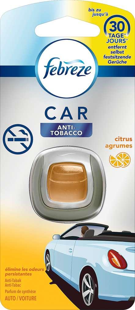 Abbildung des Sortimentsartikels Febreze Car Lufterfrischer Anti Tabak 1 Stück