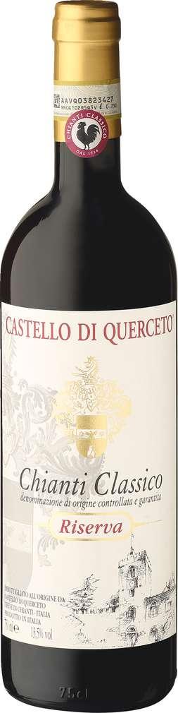 Abbildung des Sortimentsartikels Castello di Querceto Chianti Classico Riserva 0,75l