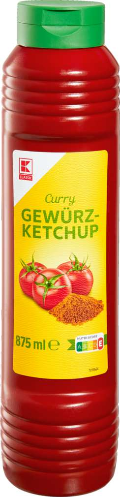 Abbildung des Sortimentsartikels K-Classic Gewürzketchup Curry 875ml