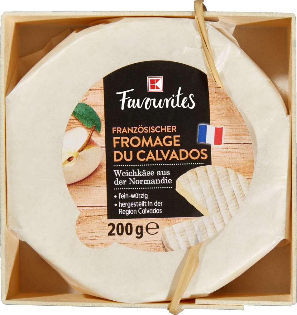 Abbildung des Sortimentsartikels K-Favourites Calvados-Taler 60% Fett i.Tr. 200g