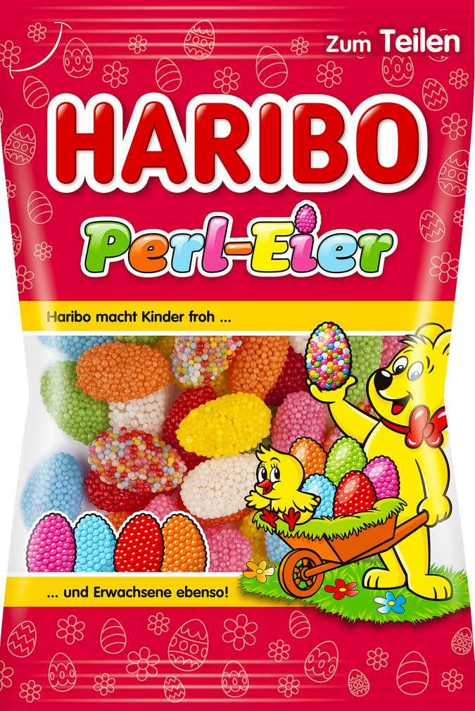 Abbildung des Sortimentsartikels Haribo Perl-Eier 200g