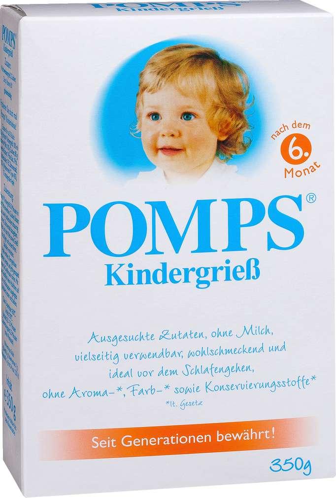 Abbildung des Sortimentsartikels Pomps Kindergrieß 350g