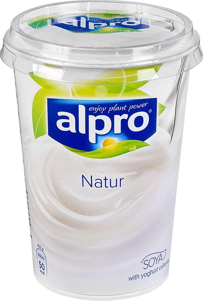 Abbildung des Sortimentsartikels Alpro Soja-Joghurtalternative natur 500g
