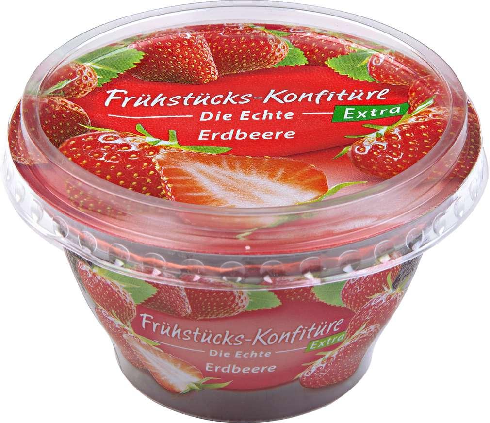 Abbildung des Sortimentsartikels Zentis Frühstücks-Konfitüre Erdbeere 200g