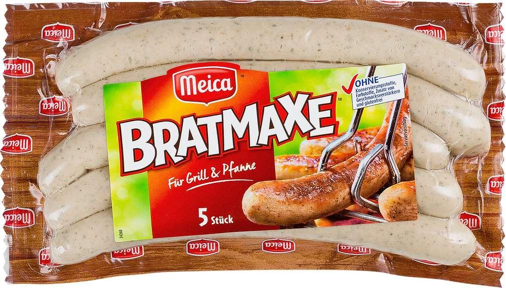 Abbildung des Sortimentsartikels Meica Bratmaxe Original 313g, 5 Stück