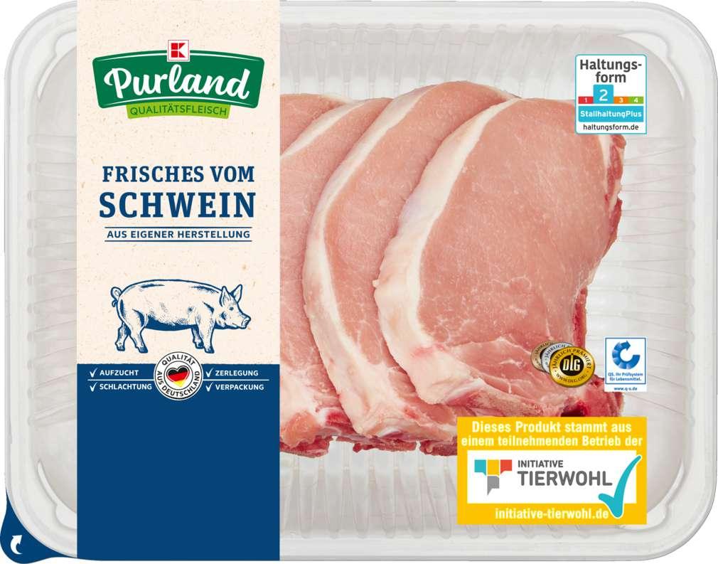 Abbildung des Sortimentsartikels K-Purland Schweinekotelett 5 Stück