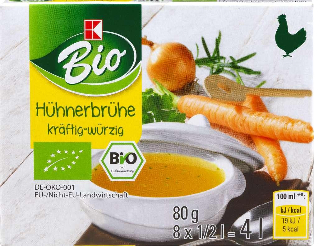 Abbildung des Sortimentsartikels K-Bio Hühnerbrühe 4l