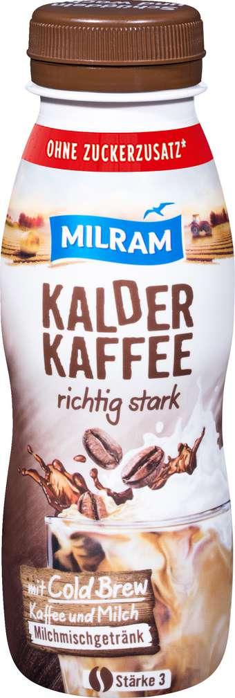Abbildung des Sortimentsartikels Milram Kalder Kaffee richtig stark 250ml
