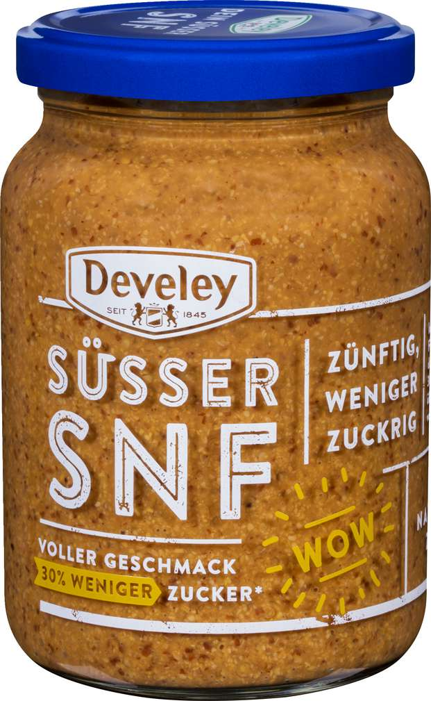 Abbildung des Sortimentsartikels Develey Süsser Senf zuckerreduziert 335ml