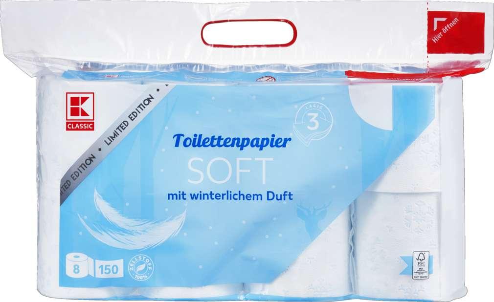 Abbildung des Sortimentsartikels K-Classic Toilettenpapier 3-lg 8x150Bl