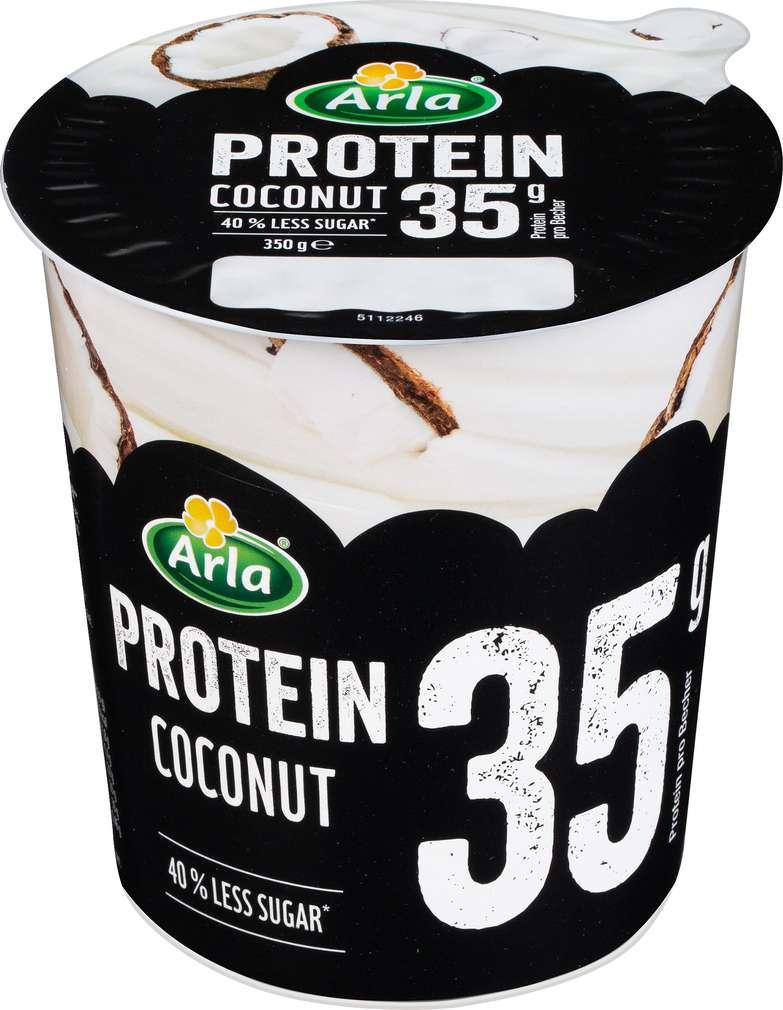 Abbildung des Sortimentsartikels Arla Joghurt Protein Coconut lf 350g