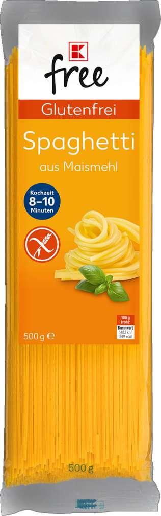 Abbildung des Sortimentsartikels K-Free Glutenfrei Spaghetti 500g