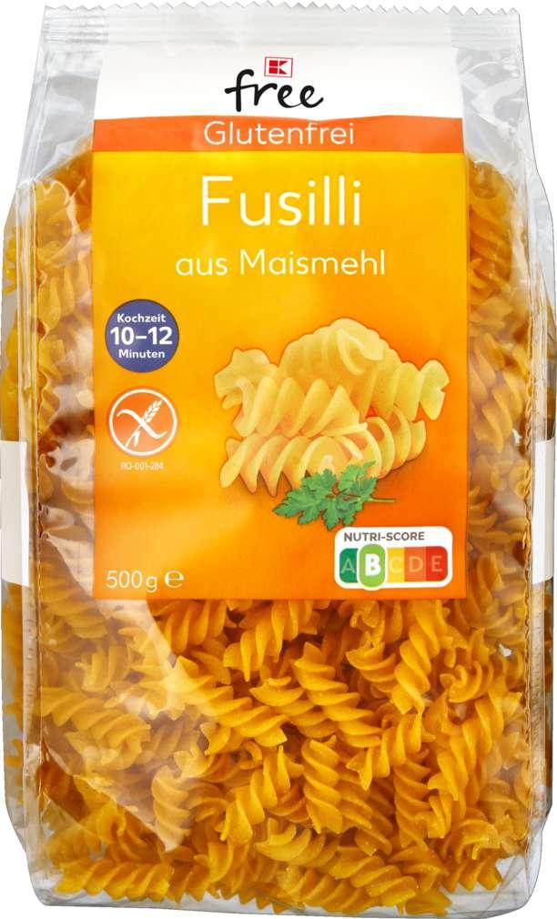 Abbildung des Sortimentsartikels K-Free Glutenfrei Fusilli 500g