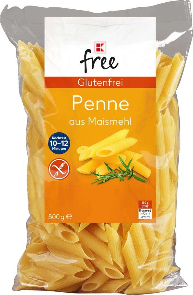 Abbildung des Sortimentsartikels K-Free Glutenfrei Penne 500g