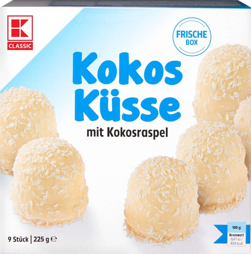Abbildung des Sortimentsartikels K-Classic Kokosschaumkuss 225g