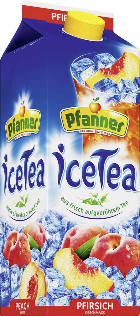Abbildung des Sortimentsartikels Pfanner Ice Tea Pfirsich 2l