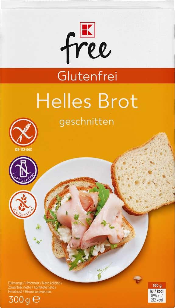 Abbildung des Sortimentsartikels K-Free Glutenfrei helles Brot 300g