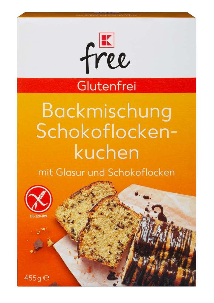 Abbildung des Sortimentsartikels K-Free Glutenfrei Backmischung Schokoflockenkuchen 455g