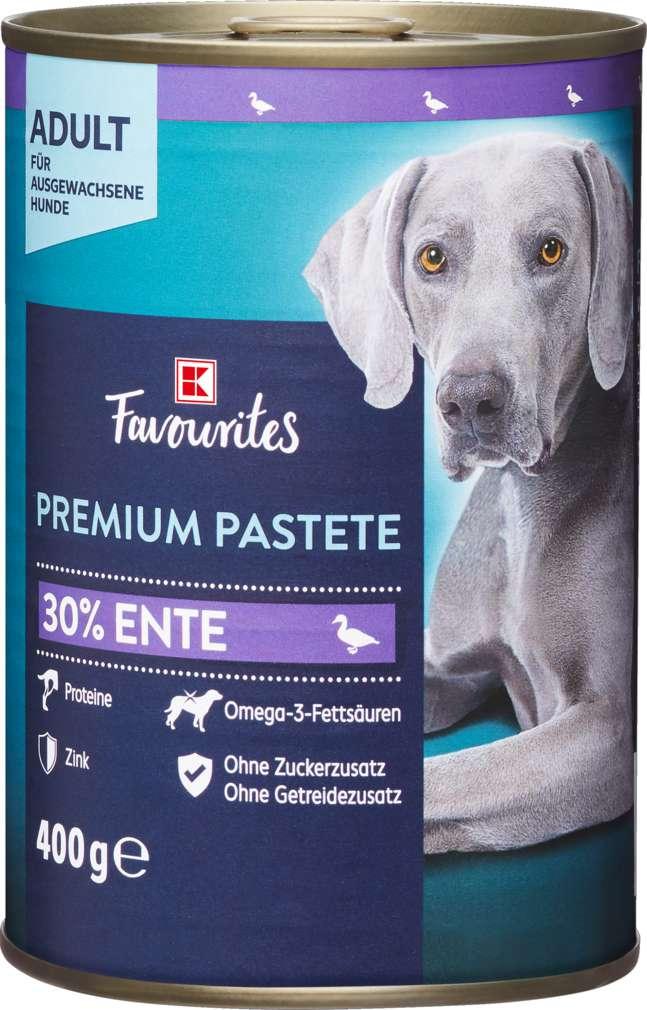 Abbildung des Sortimentsartikels K-Favourites Hundenahrung Premium Pastete Ente 400g