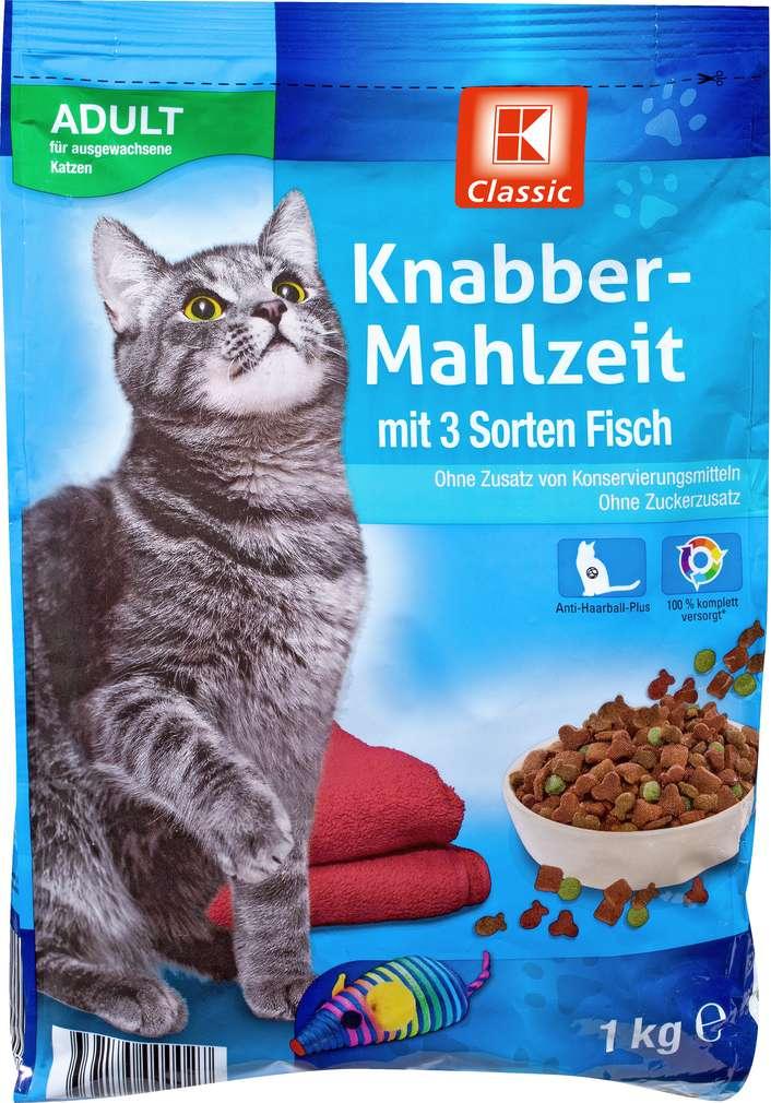Abbildung des Sortimentsartikels K-Classic Katzennahrung Fisch 1kg