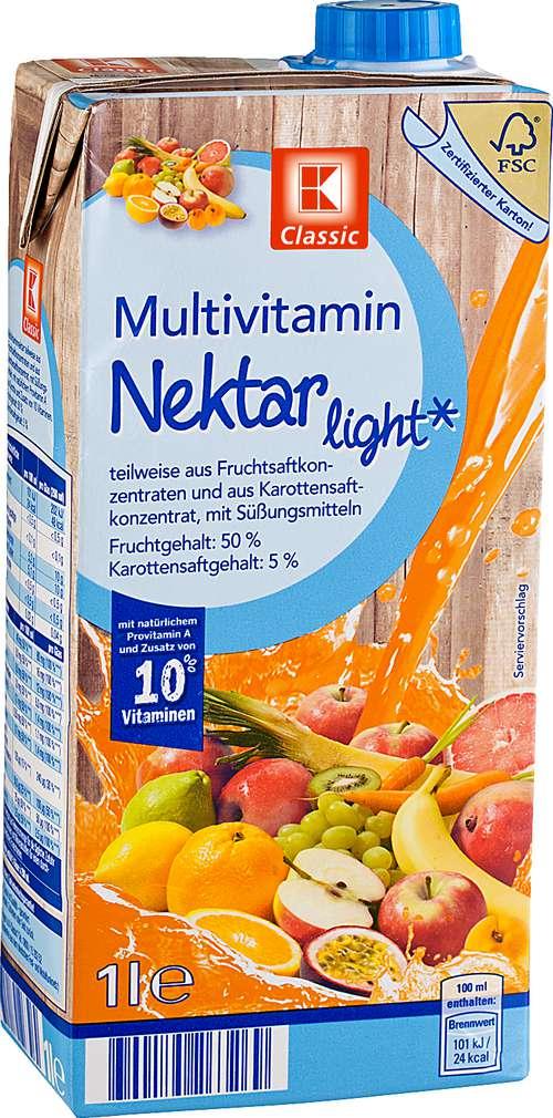Abbildung des Sortimentsartikels K-Classic Multivitamin-Nektar light 1l