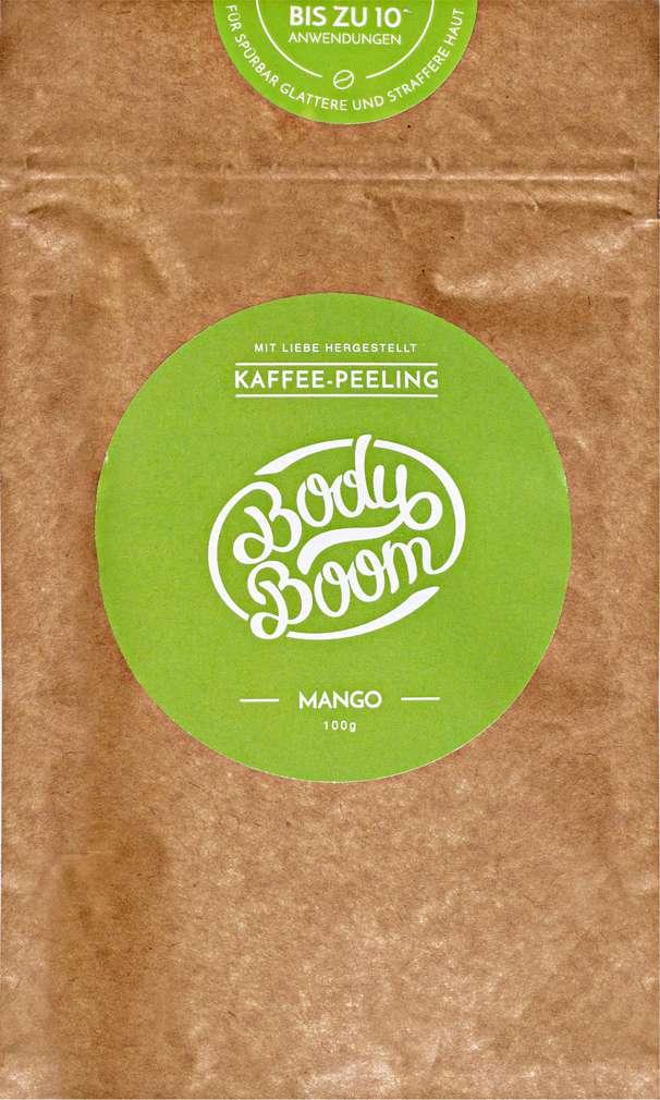 Abbildung des Sortimentsartikels Body Boom Coffee Scrub Mango 100g