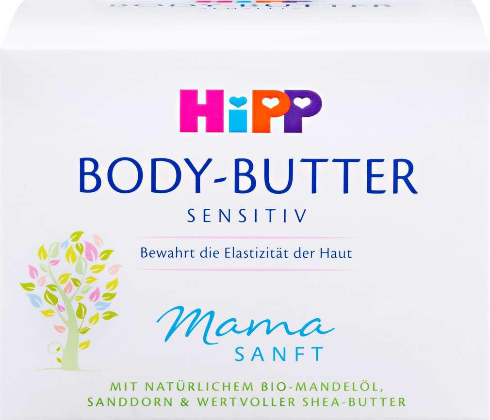 Abbildung des Sortimentsartikels Hipp Mamasanft Body-Butter Sensitiv 200ml