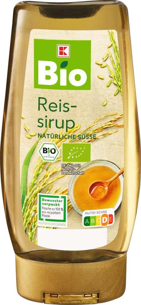 Abbildung des Sortimentsartikels K-Bio Reissirup 250ml