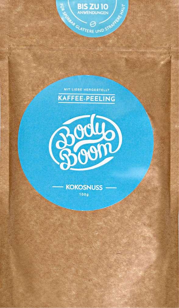 Abbildung des Sortimentsartikels Body Boom Coffee Scrub Coconut 100g