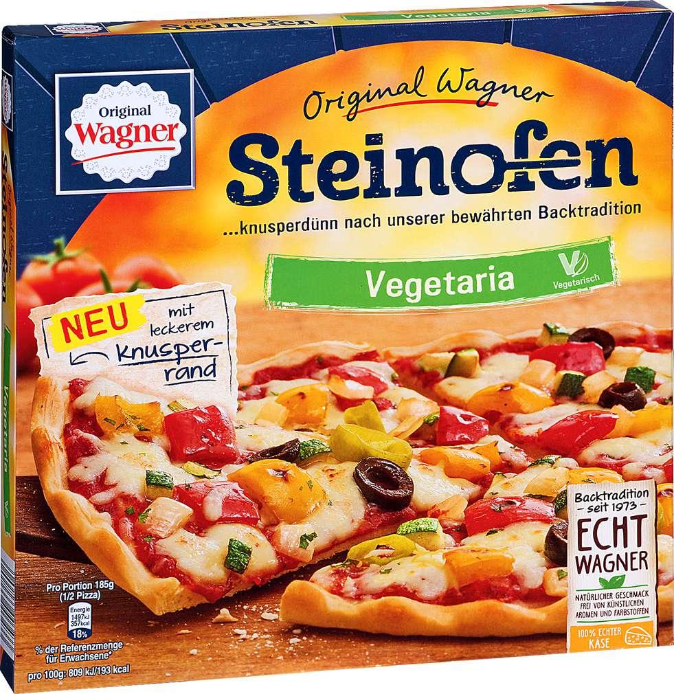 Abbildung des Sortimentsartikels Original Wagner Steinofen Pizza Vegetaria 370g