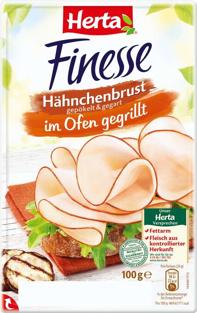Abbildung des Sortimentsartikels Herta Finesse Hähnchenbrust gegrillt 100g