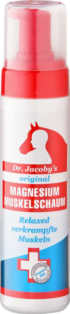 Abbildung des Sortimentsartikels Dr.Jacoby's Magnesium Muskelschaum 200ml