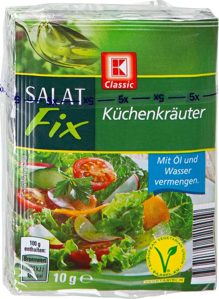 Abbildung des Sortimentsartikels K-Classic Salat Fix Küchenkräuter 5x10g