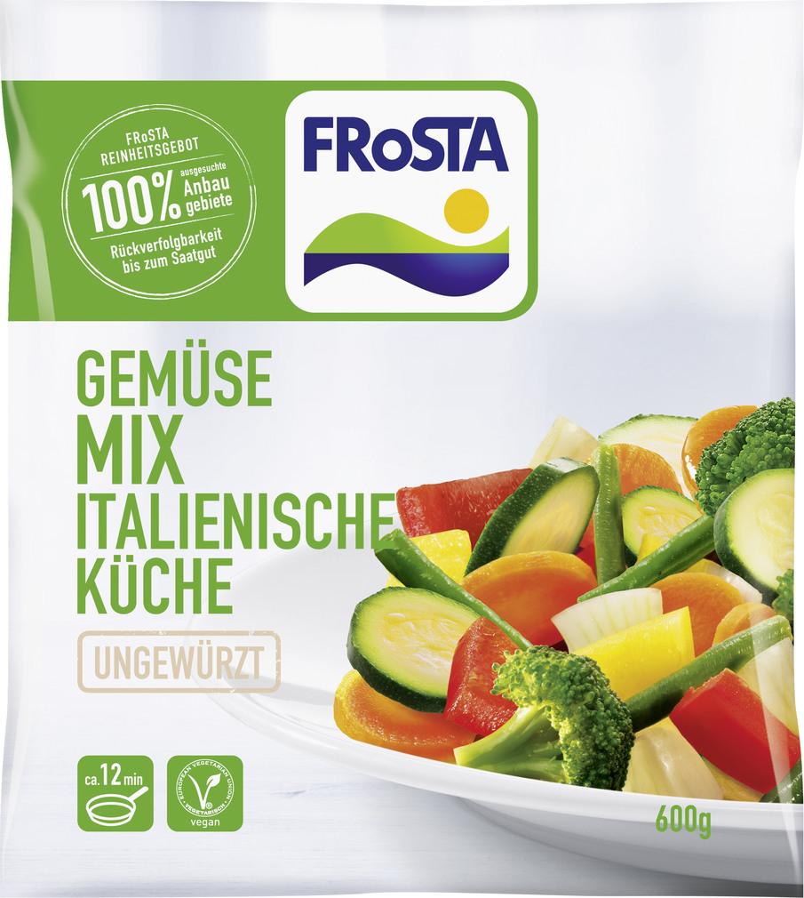 Abbildung des Sortimentsartikels Frosta Gemüse-Mix italienische Küche 600g