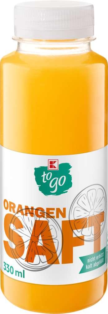 Abbildung des Sortimentsartikels K-To Go Orangensaft frisch gepresst 250ml