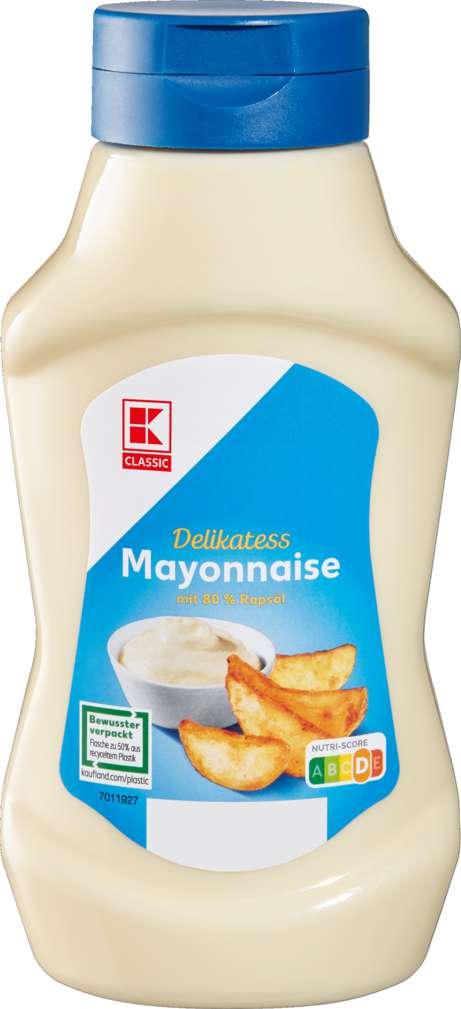 Abbildung des Sortimentsartikels K-Classic Delikatess Mayonnaise 500ml