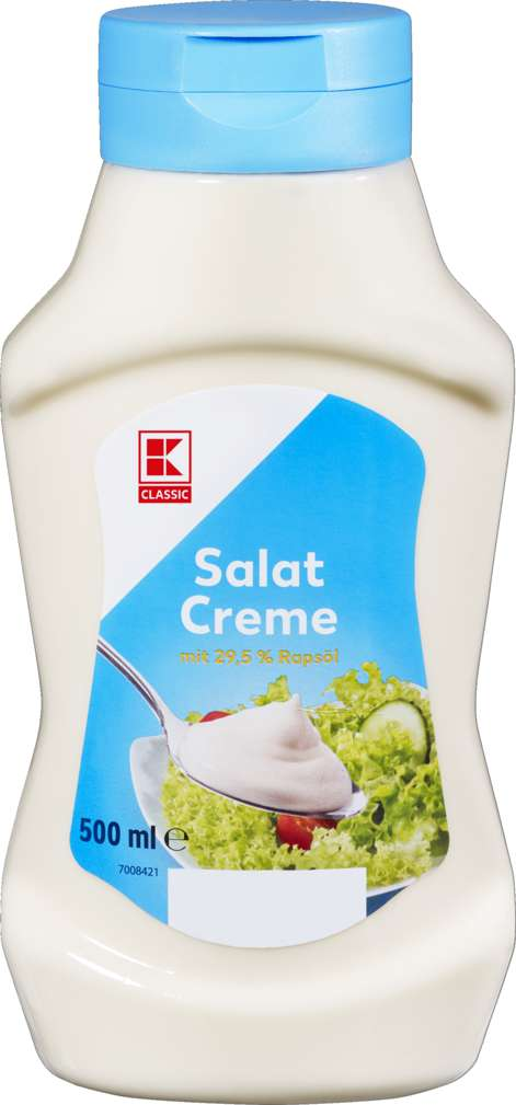 Abbildung des Sortimentsartikels K-Classic Salatcreme 500ml