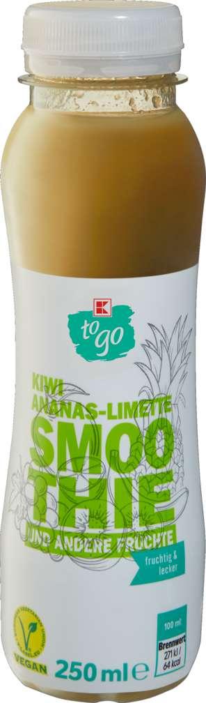 Abbildung des Sortimentsartikels K-To Go Smoothie Kiwi/Ananas/Limette 250ml