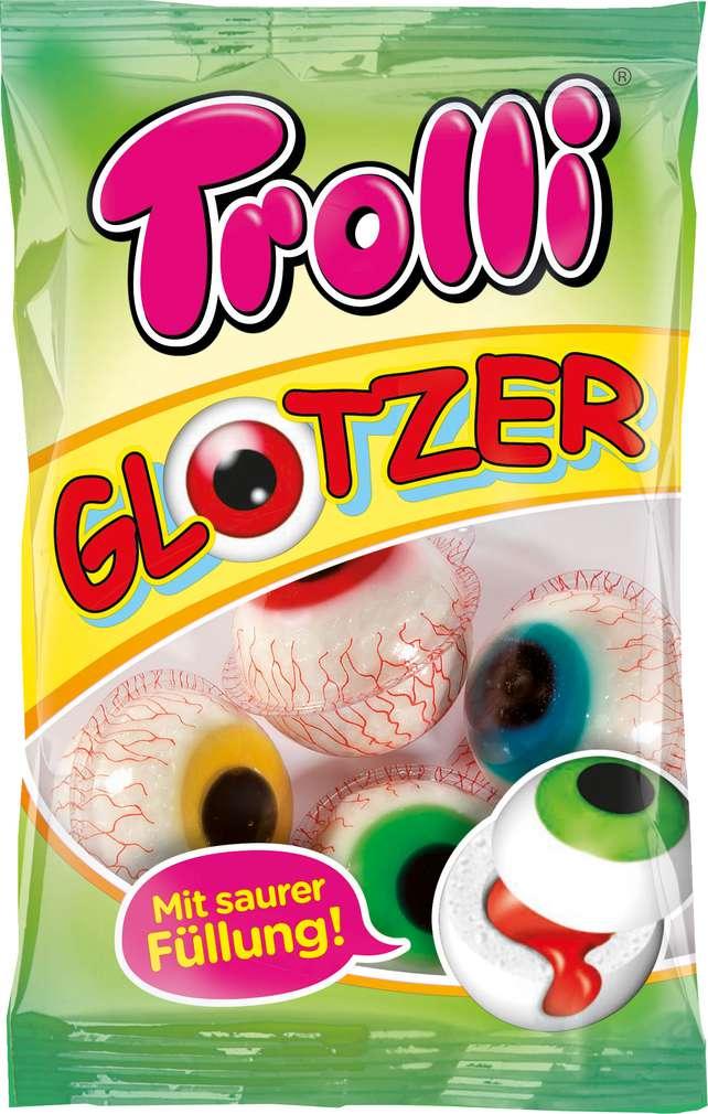 Abbildung des Sortimentsartikels Trolli Glotzer sauer gefüllt 75g