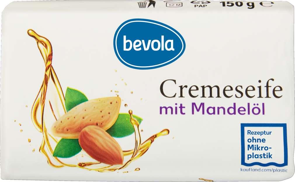 Abbildung des Sortimentsartikels Bevola Cremeseife Mandelöl fest 150g