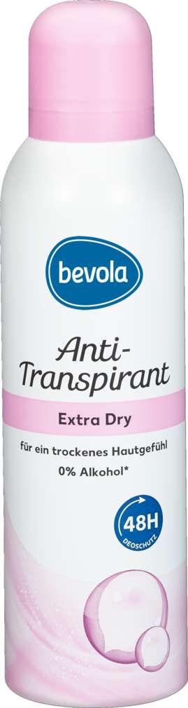 Abbildung des Sortimentsartikels Bevola Deospray Extra Dry 200ml
