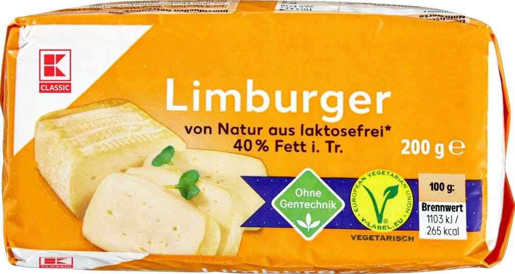 Abbildung des Sortimentsartikels K-Classic Limburger 40% Fett i.Tr. 200g