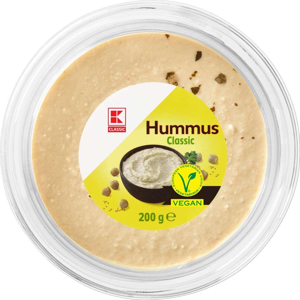 Abbildung des Sortimentsartikels K-Classic Hummus Natur 200g