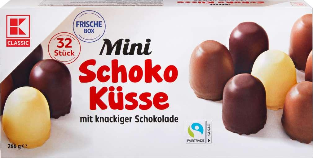 Abbildung des Sortimentsartikels K-Classic Mini Schoko Küsse 266g