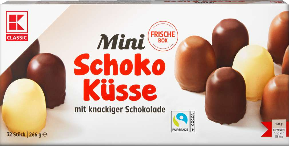 Abbildung des Sortimentsartikels K-Classic Mini Schaumküsse 266g