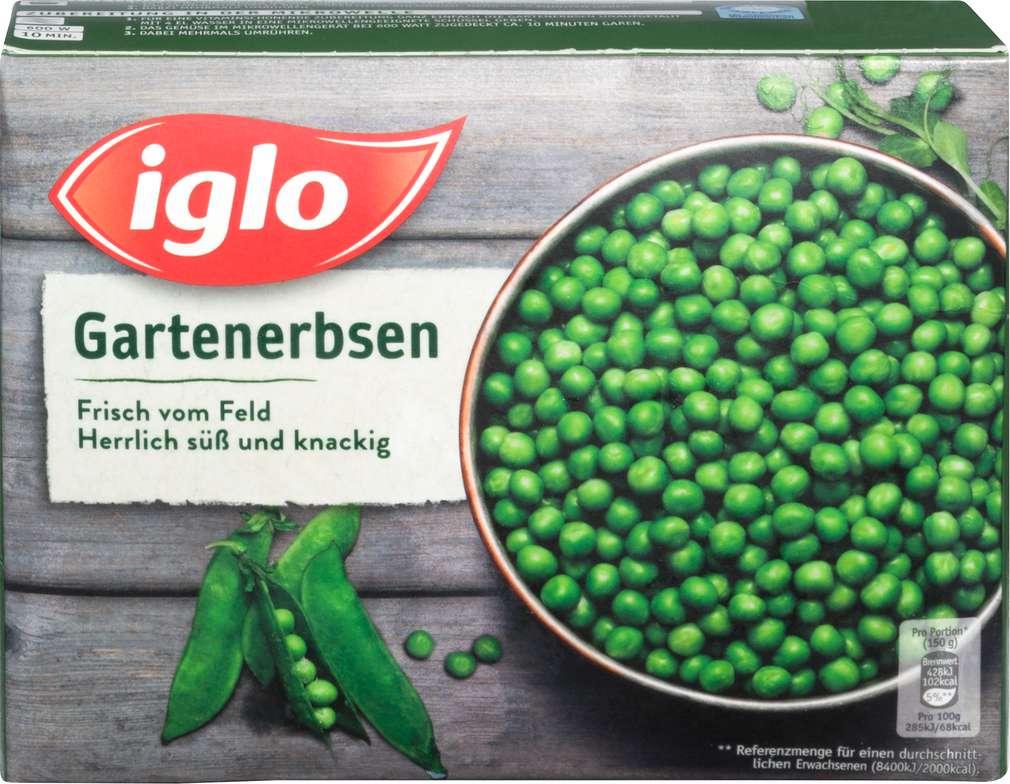 Abbildung des Sortimentsartikels Iglo Feld Frisch Gartenerbsen 400g