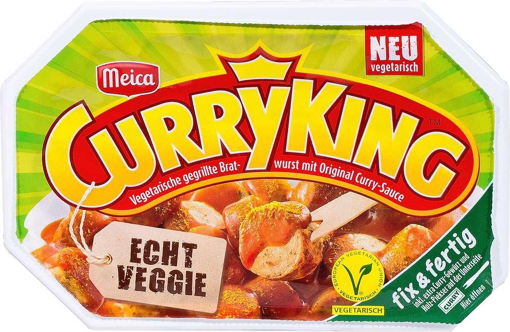 Abbildung des Sortimentsartikels Meica CurryKing Echt Veggie 220g