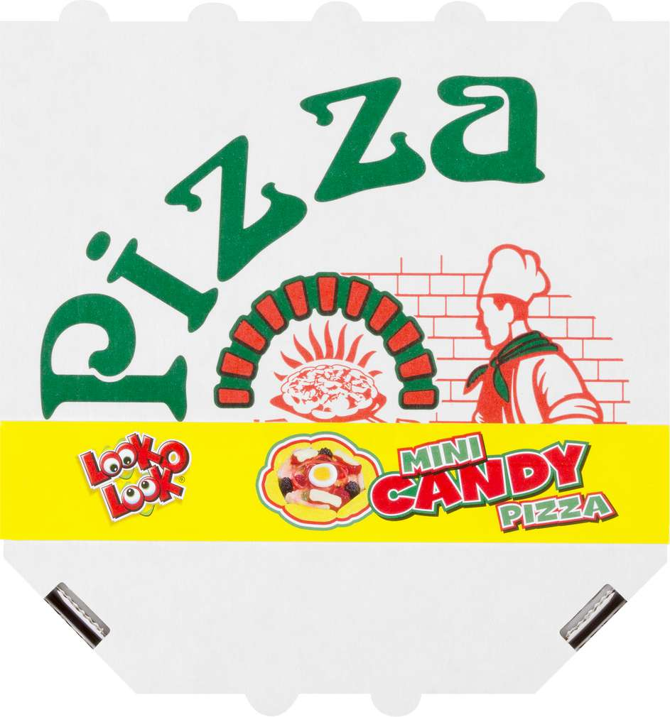 Abbildung des Sortimentsartikels Conceptfoods Look o Look Candy Mini Pizza 85g