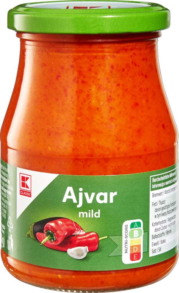 Abbildung des Sortimentsartikels K-Classic Ajvar mild 340ml